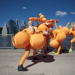 photo by Pavel Antonov, Bubbles of Hope by Andrey Bartenev, DUMBO Arts Festival, Unicycle Productions LLC